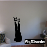 Legs in Nylons and Heels Decal