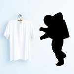 Astronaut in Space Decal
