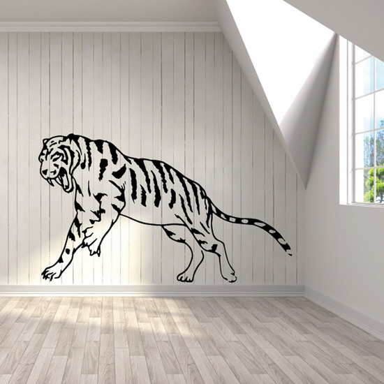 Charging Tiger Decal