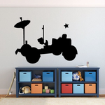 Space Rover Decal