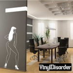 Nude Dancer in Heels Decal