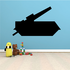 Simple Large Cannon Tank Decal