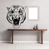 Great Hissing Tiger Head Decal