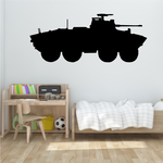 Light Armored Personnel Carrier Decal 3