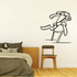 Track And Field Hurdles Wall Decal - Vinyl Decal - Car Decal - CDS001