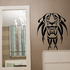 Abstract Long Mane Lion Decal