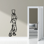 Track And Field Wall Decal - Vinyl Decal - Car Decal - CDS008