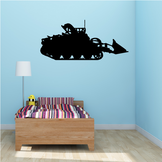 Front-Loader Tank Decal