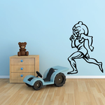 Track And Field Wall Decal - Vinyl Decal - Car Decal - CDS022