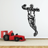 Track And Field Wall Decal - Vinyl Decal - Car Decal - CDS040