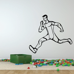 Track And Field Wall Decal - Vinyl Decal - Car Decal - CDS045
