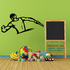 Track And Field Wall Decal - Vinyl Decal - Car Decal - CDS047