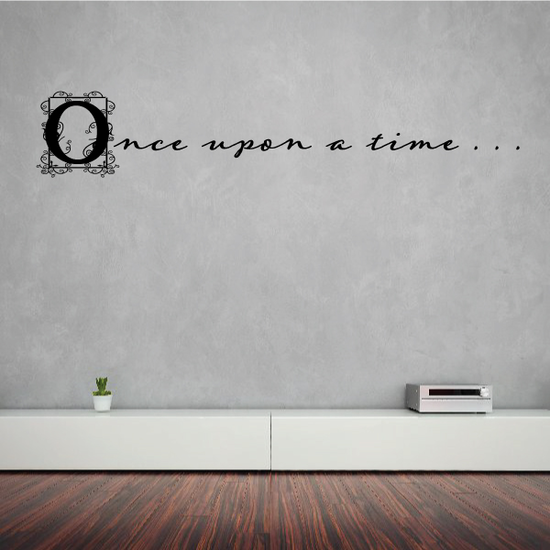 Once upon A Time Fantasy Wall Decal
