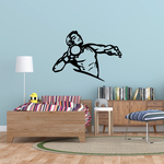 Track And Field Wall Decal - Vinyl Decal - Car Decal - CDS048