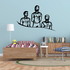 Track And Field Wall Decal - Vinyl Decal - Car Decal - CDS051