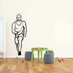 Track And Field Wall Decal - Vinyl Decal - Car Decal - CDS059