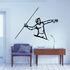 Track And Field Wall Decal - Vinyl Decal - Car Decal - CDS070