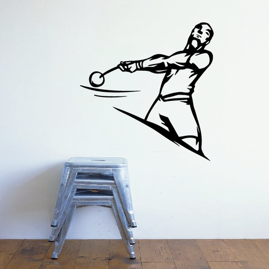 Track And Field Wall Decal - Vinyl Decal - Car Decal - CDS071