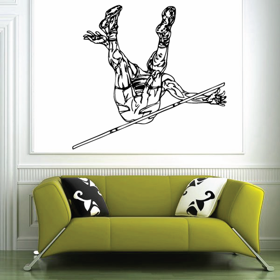 Track And Field Wall Decal - Vinyl Decal - Car Decal - CDS086