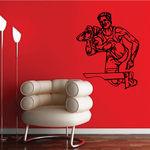 Track And Field Wall Decal - Vinyl Decal - Car Decal - CDS088