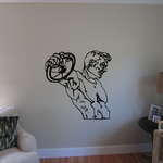 Track And Field Wall Decal - Vinyl Decal - Car Decal - CDS094