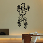 Track And Field Wall Decal - Vinyl Decal - Car Decal - CDS095