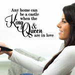 Any Home Can Be Wall Decal