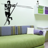 Track and field Wall Decal - Vinyl Decal - Car Decal - Bl007
