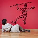 Track and field Wall Decal - Vinyl Decal - Car Decal - Bl009