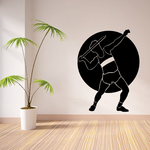 Track and field Wall Decal - Vinyl Decal - Car Decal - Bl013