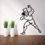 Track and field Wall Decal - Vinyl Decal - Car Decal - Bl016