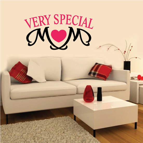 Very Special Heart Mom Decal