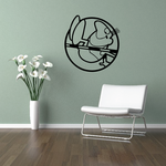 Track and field Wall Decal - Vinyl Decal - Car Decal - Bl029