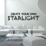 Create Your Own Starlight Decal
