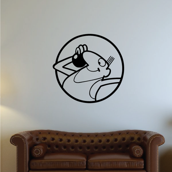 Track and field Wall Decal - Vinyl Decal - Car Decal - Bl030