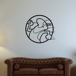 Track and field Wall Decal - Vinyl Decal - Car Decal - Bl035