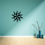 Two Nautical Stars Decal