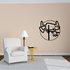 Track and field Wall Decal - Vinyl Decal - Car Decal - Bl037