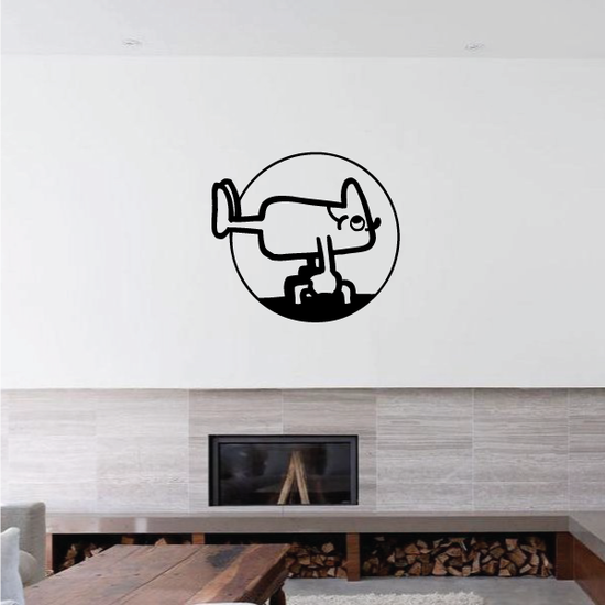 Track and field Wall Decal - Vinyl Decal - Car Decal - Bl038