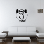 Track and field Wall Decal - Vinyl Decal - Car Decal - Bl039