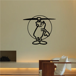 Track and field Wall Decal - Vinyl Decal - Car Decal - Bl040