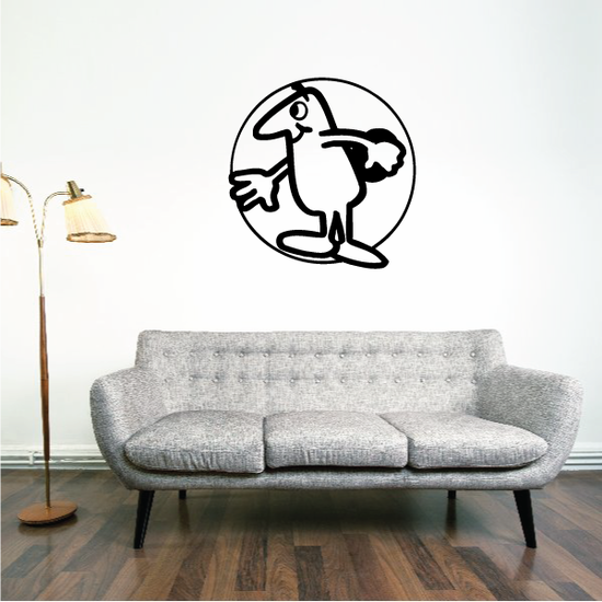 Track and field Wall Decal - Vinyl Decal - Car Decal - Bl043