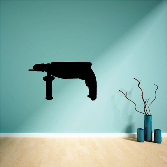 Hammer drill Decal