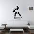Track and field Wall Decal - Vinyl Decal - Car Decal - Bl045