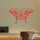 Flaming Butterfly Decal