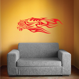 Flaming Animal Decals