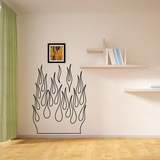 Flame Outline Decals