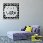 Blessings Wall Decal
