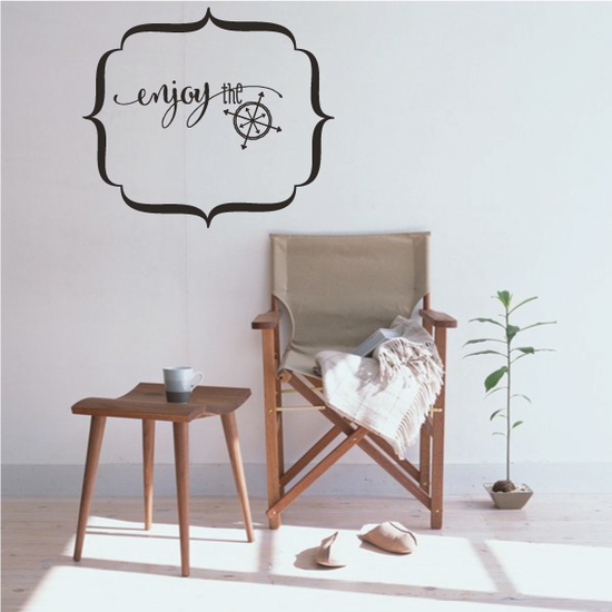Enjoy The Wall Decal