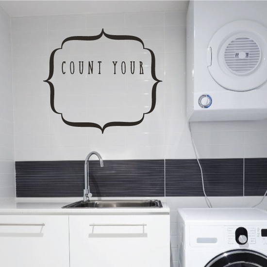 Count Your Wall Decal